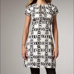 TORY BURCH | sz 8 Shirley crescent silk dress